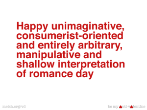 meish.org :: Be My Anti-Valentine