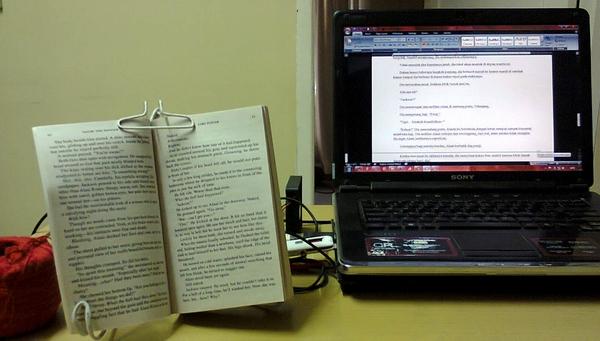Menerjemahkan Novel