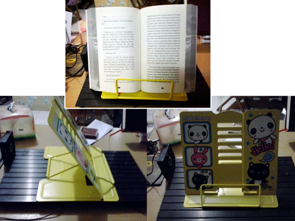 Bookstand-kaleng