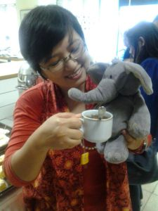 Dumbo tea time