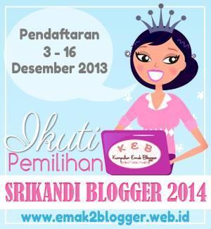 Kontes Srikandi Blogger2014